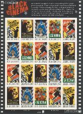 2008 Vintage Black Cinema 42 Cent US Postage Stamp Unused Sheet of 20 Scott #4336 - #4340