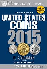 Whitman Blue Book United States Coins 2015 - Paperback