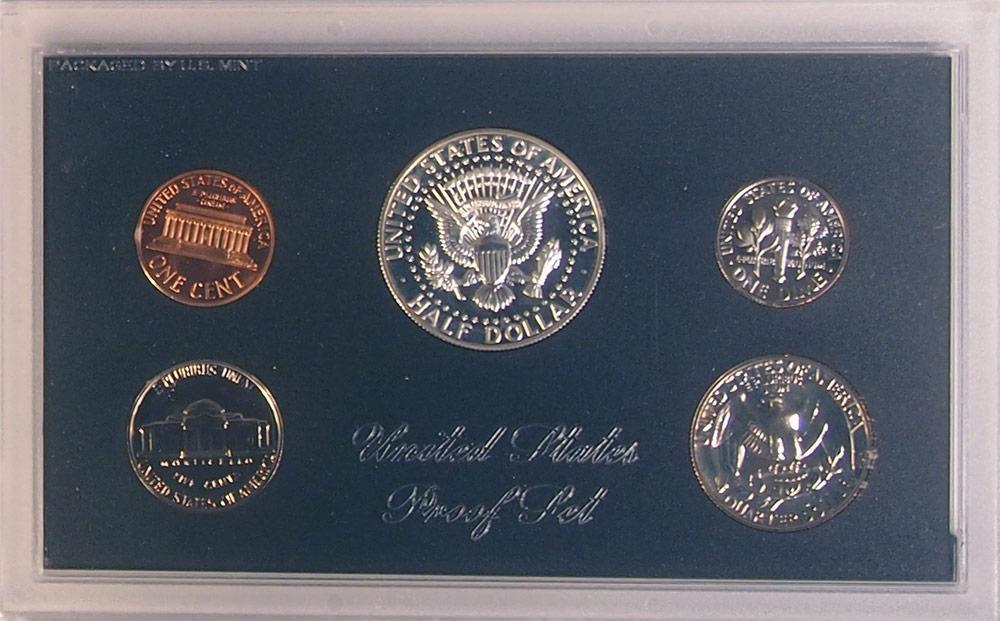 1968 PROOF SET * ORIGINAL * 5 Coin U.S. Mint Proof Set