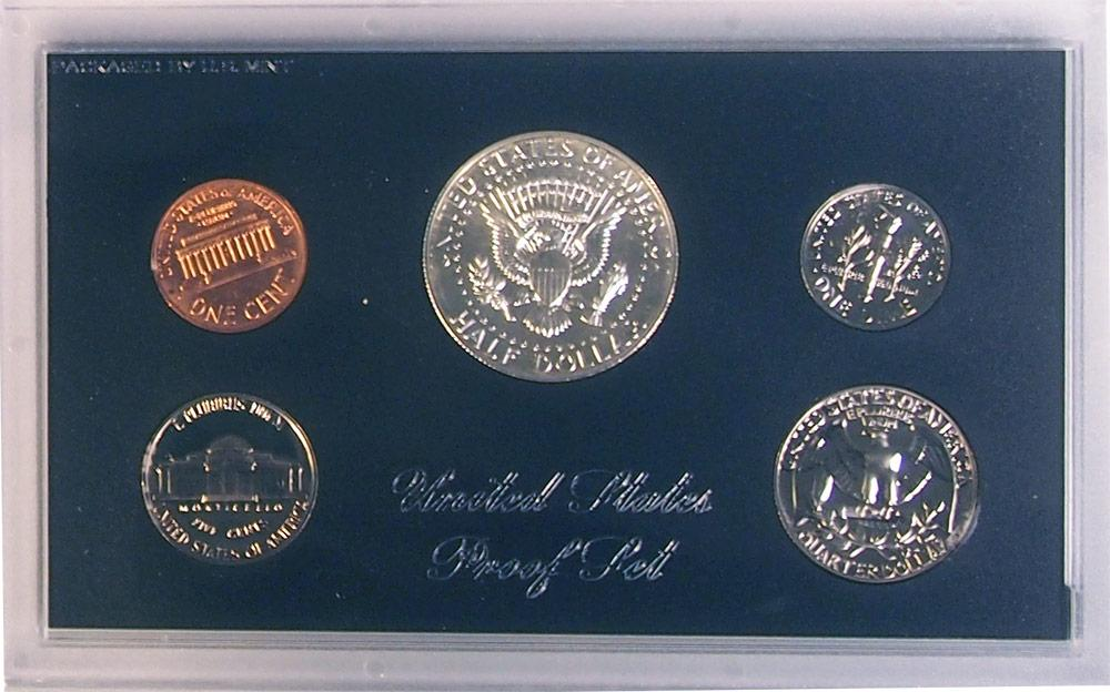 1969 PROOF SET * ORIGINAL * 5 Coin U.S. Mint Proof Set