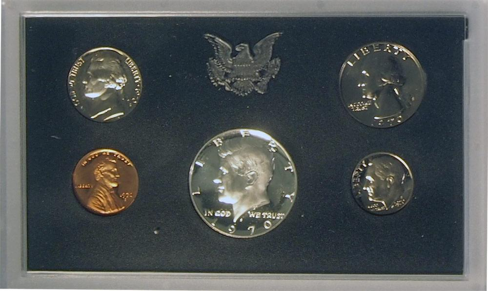 1970 PROOF SET * ORIGINAL * 5 Coin U.S. Mint Proof Set