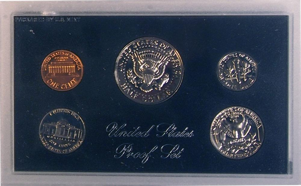 1971 PROOF SET * ORIGINAL * 5 Coin U.S. Mint Proof Set