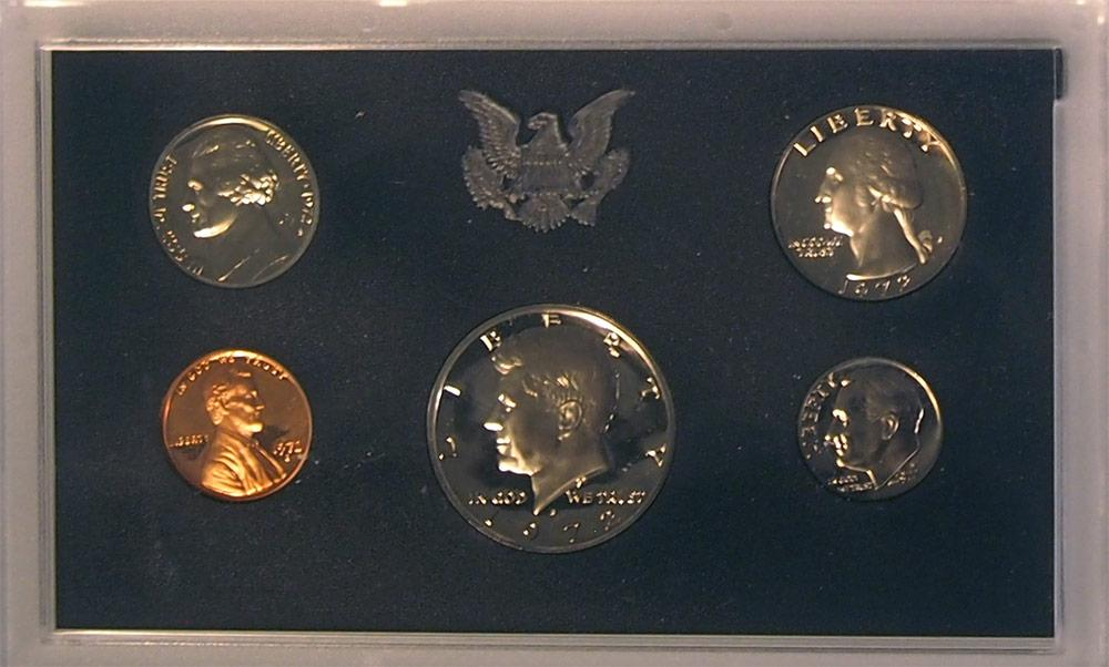 1972 PROOF SET * ORIGINAL * 5 Coin U.S. Mint Proof Set