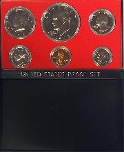 1973 PROOF SET * ORIGINAL * 6 Coin U.S. Mint Proof Set