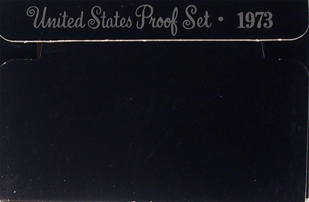 1973 PROOF SET * ORIGINAL * 6 Coin U.S. Mint Proof Set