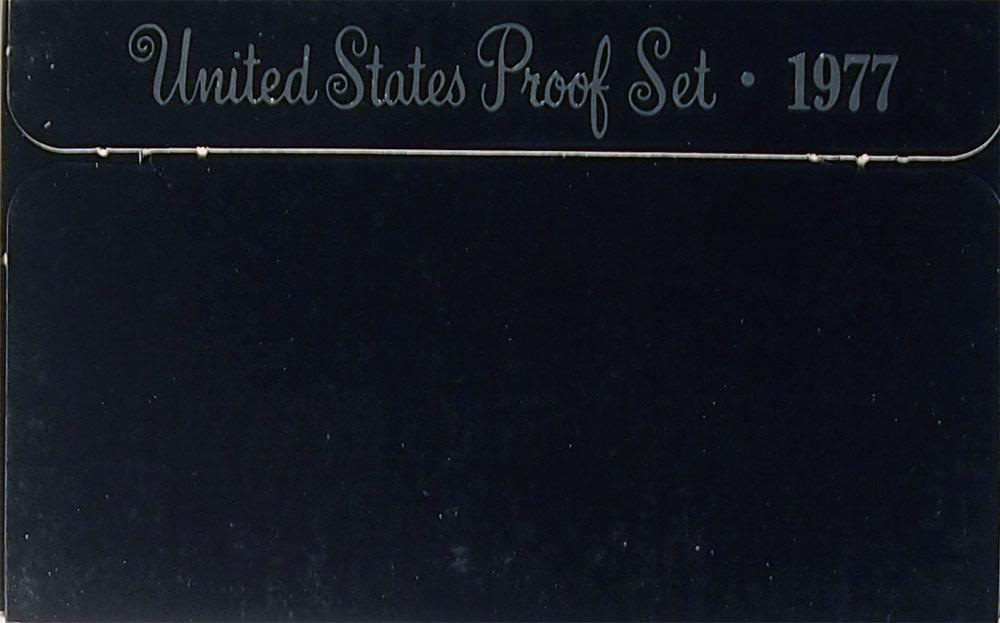 1977 PROOF SET * ORIGINAL * 6 Coin U.S. Mint Proof Set