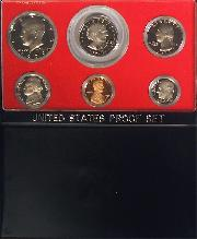 1979 PROOF SET ORIGINAL RARE TYPE 2 CLEAR S 6 Coin U.S. Mint Proof Set