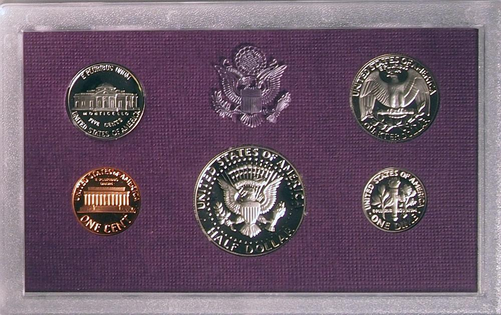 1984 PROOF SET * ORIGINAL * 5 Coin U.S. Mint Proof Set
