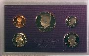 1987 PROOF SET * ORIGINAL * 5 Coin U.S. Mint Proof Set