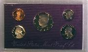 1988 PROOF SET * ORIGINAL * 5 Coin U.S. Mint Proof Set