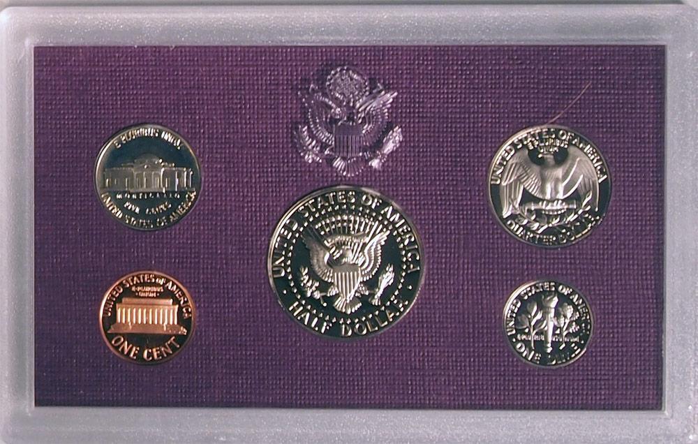 1988 PROOF SET * ORIGINAL * 5 Coin U.S. Mint Proof Set