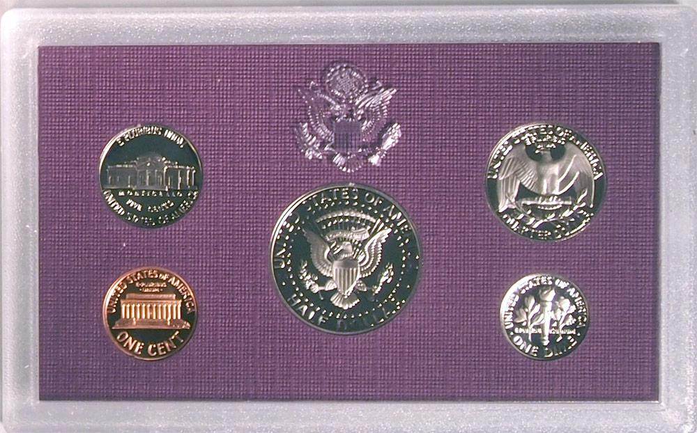 1991 PROOF SET * ORIGINAL * 5 Coin U.S. Mint Proof Set