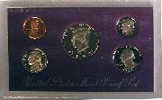 1992 PROOF SET * ORIGINAL * 5 Coin U.S. Mint Proof Set