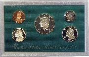 1998 PROOF SET * ORIGINAL * 5 Coin U.S. Mint Proof Set