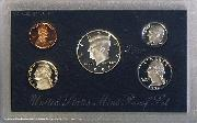 1996 SILVER PROOF SET * ORIGINAL * 5 Coin U.S. Mint Proof Set