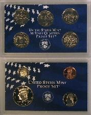 1999 PROOF SET * ORIGINAL * 9 Coin U.S. Mint Proof Set