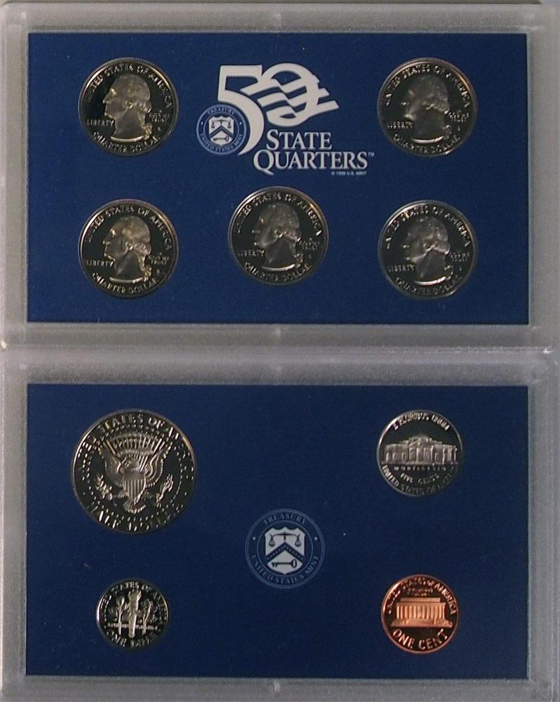 1999 PROOF SET * ORIGINAL * 9 Coin U.S. Mint Proof Set