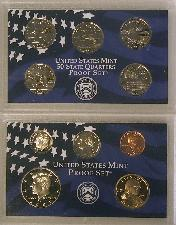 2001 PROOF SET * ORIGINAL * 10 Coin U.S. Mint Proof Set