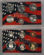 2004 SILVER PROOF SET * ORIGINAL * 11 Coin U.S. Mint Proof Set