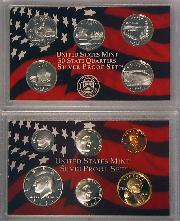 2005 SILVER PROOF SET * ORIGINAL * 11 Coin U.S. Mint Proof Set