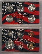 2006 SILVER PROOF SET * ORIGINAL * 10 Coin U.S. Mint Proof Set