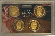 2007 PRESIDENTIAL DOLLAR PROOF SET * 4 Coin U.S. Mint Proof Set