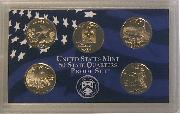2008 QUARTER PROOF SET * ORIGINAL * 5 Coin U.S. Mint Proof Set