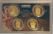 2009 PRESIDENTIAL DOLLAR PROOF SET * 4 Coin U.S. Mint Proof Set