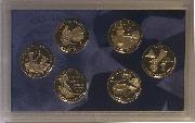 2009 QUARTER PROOF SET * ORIGINAL * 6 Coin U.S. Mint Proof Set