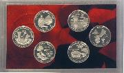 2009 SILVER QUARTER PROOF SET * 6 Coin U.S. Mint Proof Set