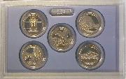 2010 QUARTER PROOF SET * ORIGINAL * 5 Coin U.S. Mint Proof Set
