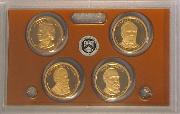 2011 PRESIDENTIAL DOLLAR PROOF SET * 4 Coin U.S. Mint Proof Set