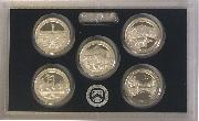2011 SILVER QUARTER PROOF SET * 5 Coin U.S. Mint Proof Set