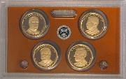 2013 PRESIDENTIAL DOLLAR PROOF SET * 4 Coin U.S. Mint Proof Set
