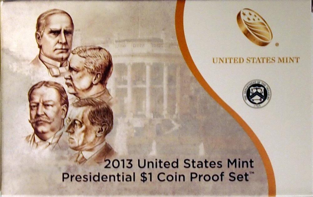 2013 PRESIDENTIAL DOLLAR PROOF SET * 4 Coin U.S. Mint Proof Set