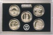 2013 SILVER QUARTER PROOF SET * 5 Coin U.S. Mint Proof Set