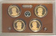 2014 U.S. Mint Presidential Dollar Proof Set - 4 Coins