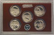 2014 National Parks Quarter Proof Set - 5 Coins