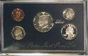 1994 PREMIER SILVER PROOF SET Deluxe Box 5 Coin U.S. Mint Proof Set