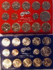 2008 Mint Set - All Original 28 Coin U.S. Mint Uncirculated Set
