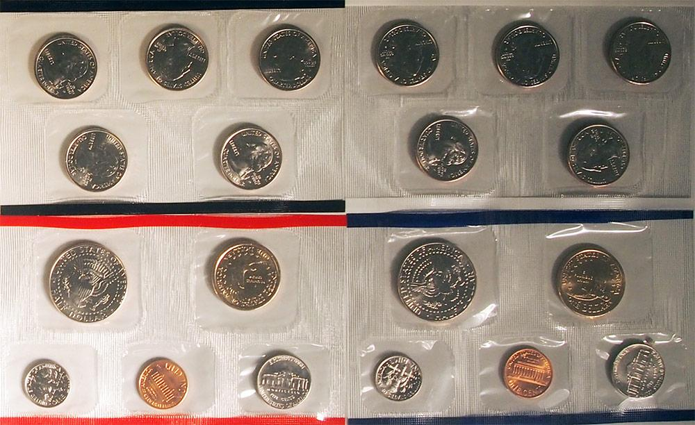 2001 Mint Set - All Original 20 Coin U.S. Mint Uncirculated Set