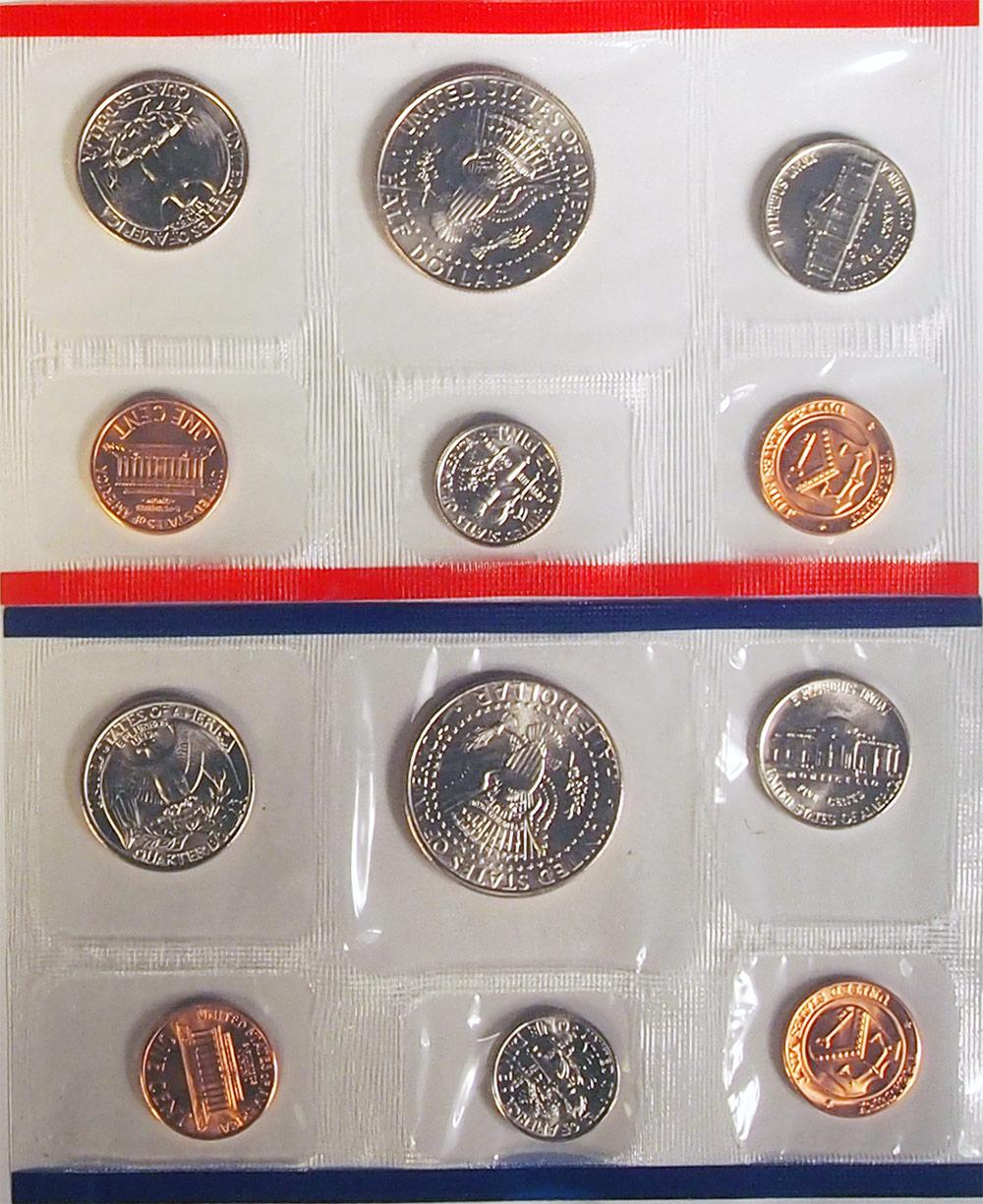 1995 Mint Set - All Original 10 Coin U.S. Mint Uncirculated Set