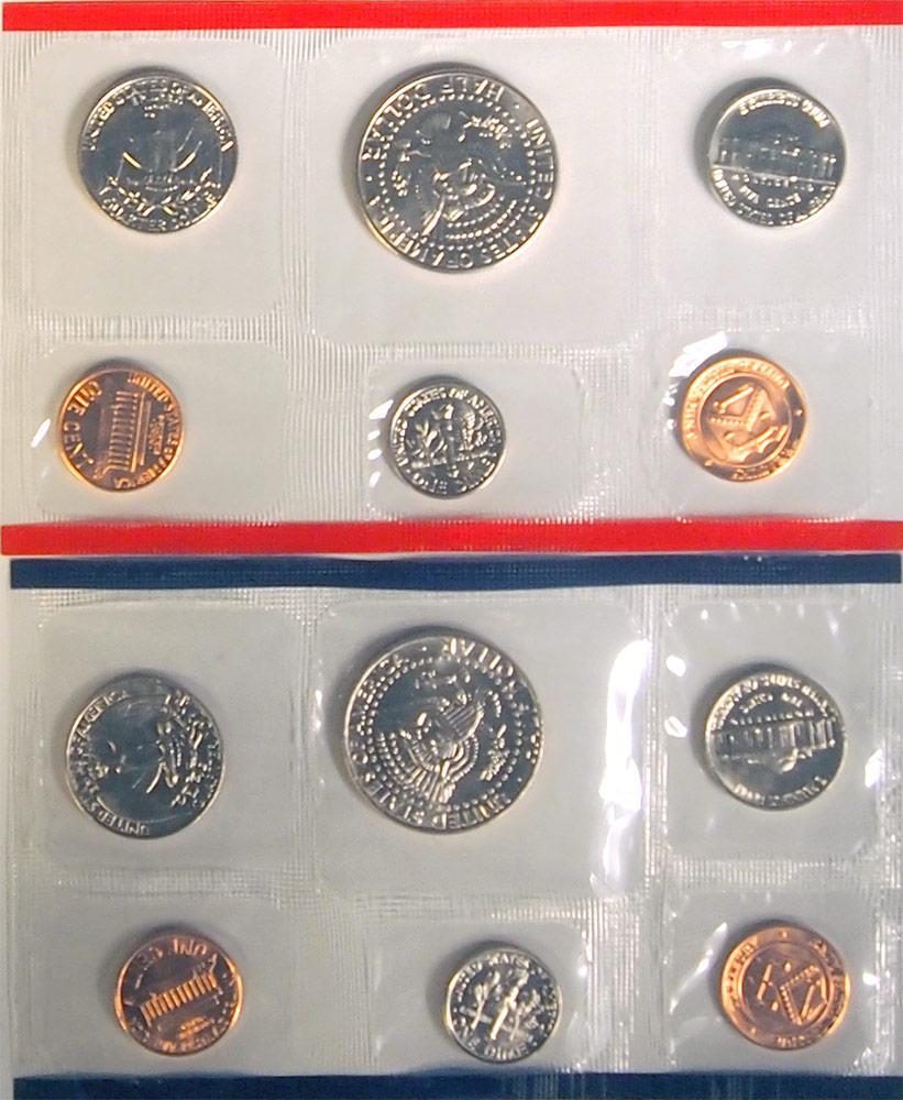 1988 Mint Set - All Original 10 Coin U.S. Mint Uncirculated Set