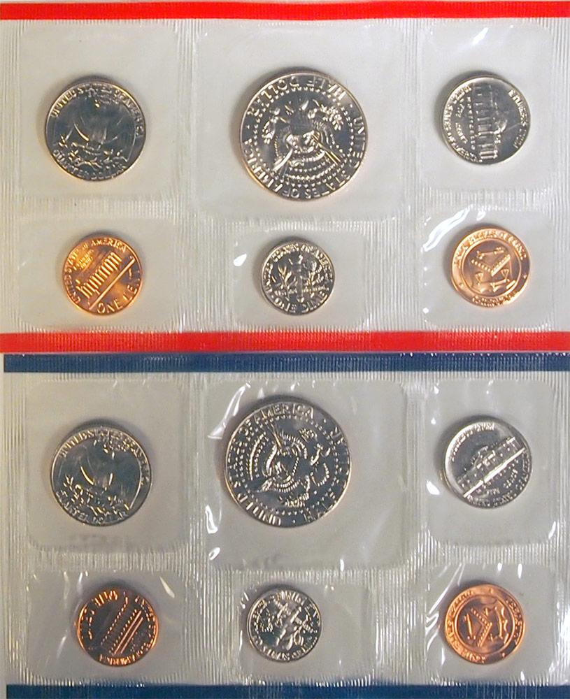 1985 Mint Set - All Original 10 Coin U.S. Mint Uncirculated Set