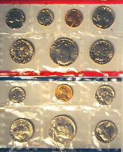 1981 Mint Set - All Original 13 Coin U.S. Mint Uncirculated Set