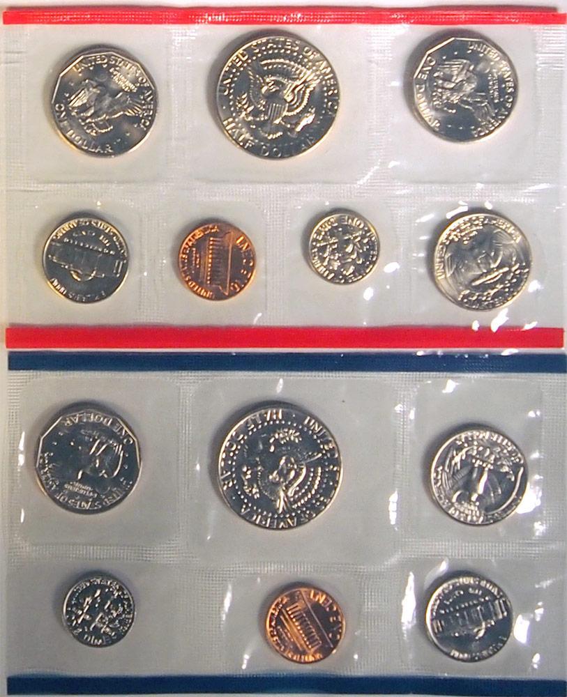 1981 Mint Set - All Original 13 Coin U.S. Mint Uncirculated Set
