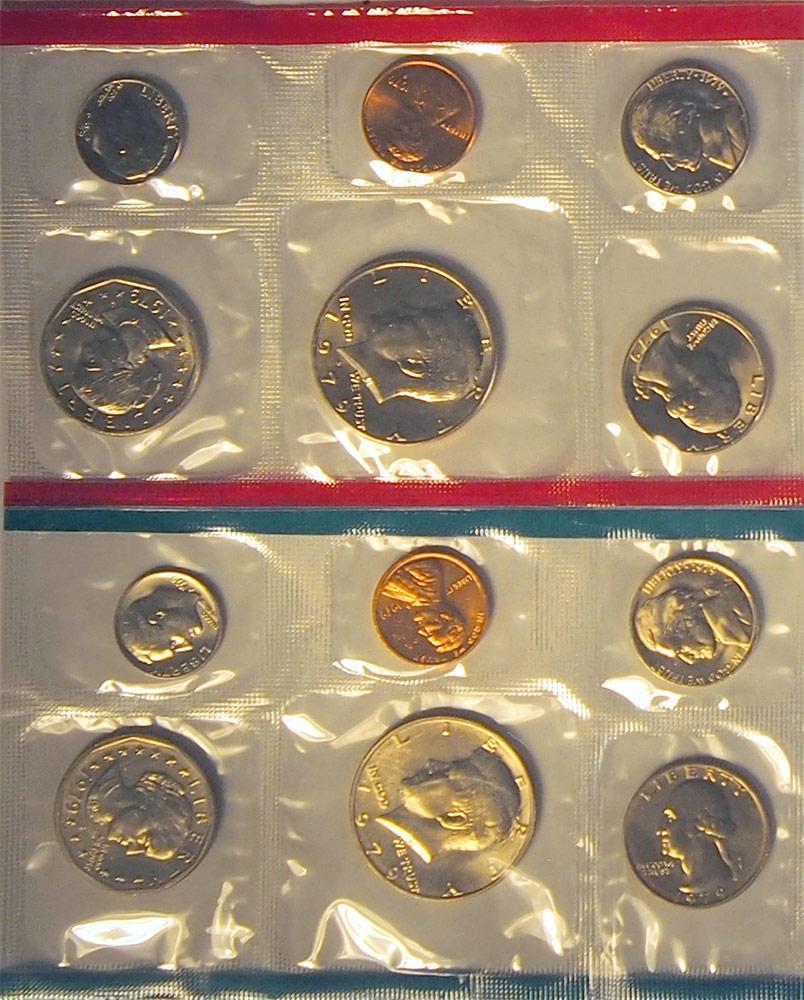 1979 Mint Set - All Original 12 Coin U.S. Mint Uncirculated Set