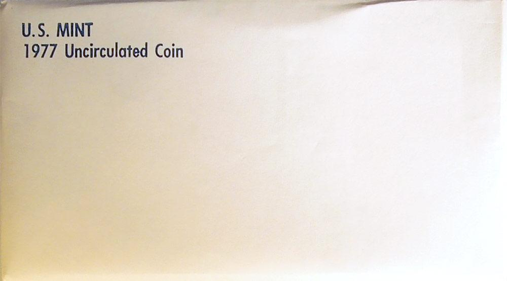1977 Mint Set - All Original 12 Coin U.S. Mint Uncirculated Set