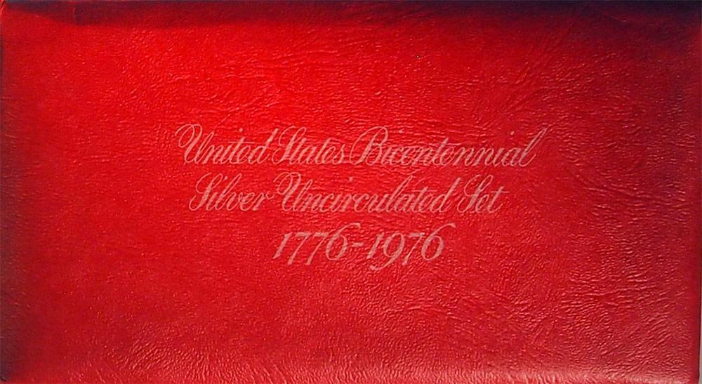 1976 U.S. Mint Set * Bicentennial Silver 3 Coin U.S. Mint Uncirculated Set