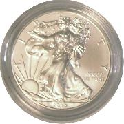 2013-W Burnished BU American Silver Eagle * 1oz Silver